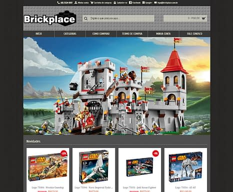 BrickPlace – Loja Virtual Lego