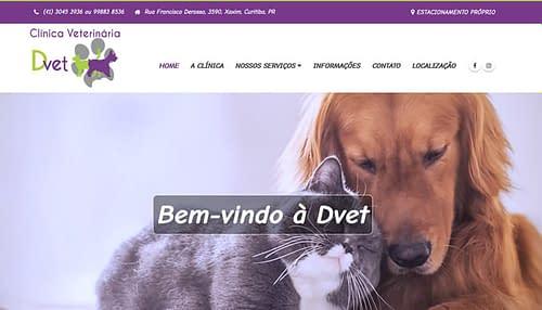 DVET Clínica Veterinária e Pet Shop